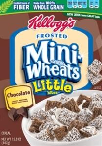 I hope Little Chocolate Mini-Wheats works